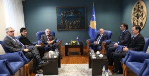 Meeting with Kosovo's Prime Minister, March 2017